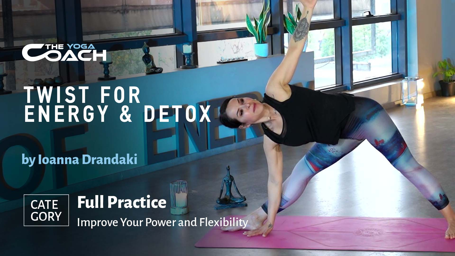 Twist for Energy and Detox