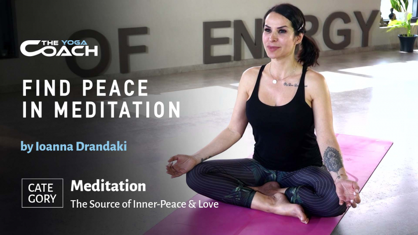 Find Peace in Meditation